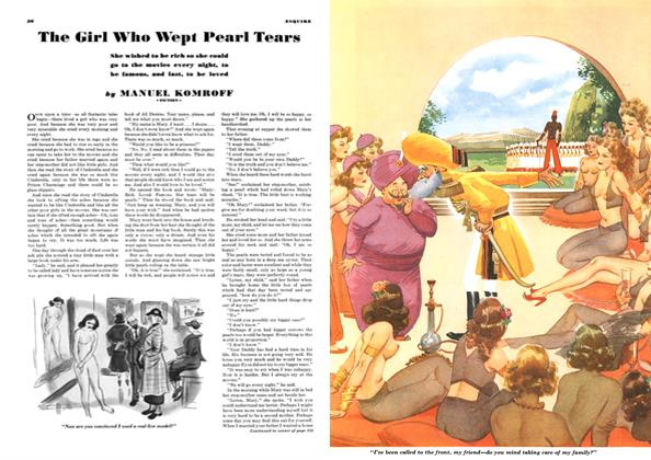 Article Preview: The Girl Who Wept Pearl Tears, JUNE 1940 1940   Esquire