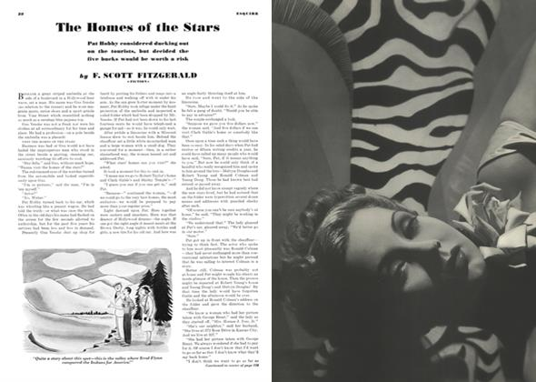 Article Preview: The Homes of the Stars, AUGUST, 1940 1940 | Esquire