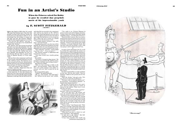Article Preview: Fun in an Artist's Studio, FEBRUARY, 1941 1941 | Esquire