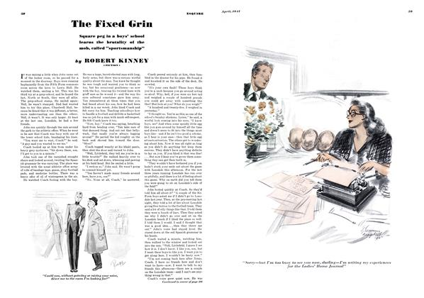 Article Preview: The Fixed Grin, APRIL 1941 1941 | Esquire