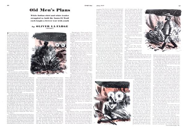 Article Preview: Old Men's Plans, JULY, 1941 1941 | Esquire