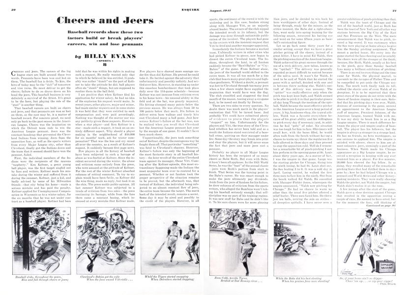 Cheers and Jeers | Esquire | AUGUST 1941