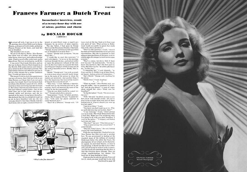 frances farmer natal chart