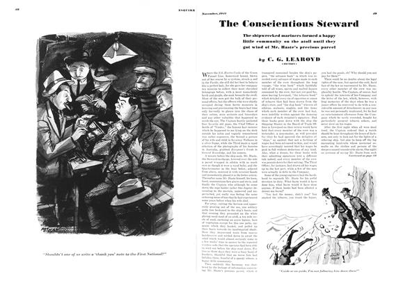 Article Preview: The Conscientious Steward, NOVEMBER 1941 1941 | Esquire