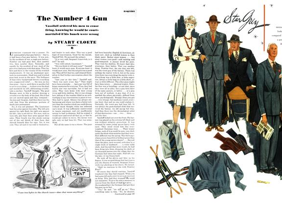 Article Preview: The Number 4 Gun, APRIL 1942 1942 | Esquire