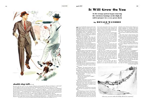 Article Preview: It Will Grow On You, APRIL 1942 1942 | Esquire