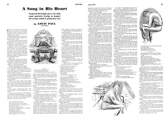 Article Preview: A Song In His Heart, JUNE 1942 1942 | Esquire