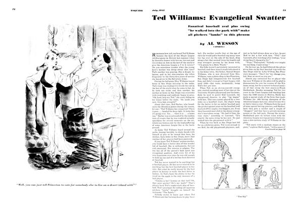 Ted Williams: Evangelical Swatter