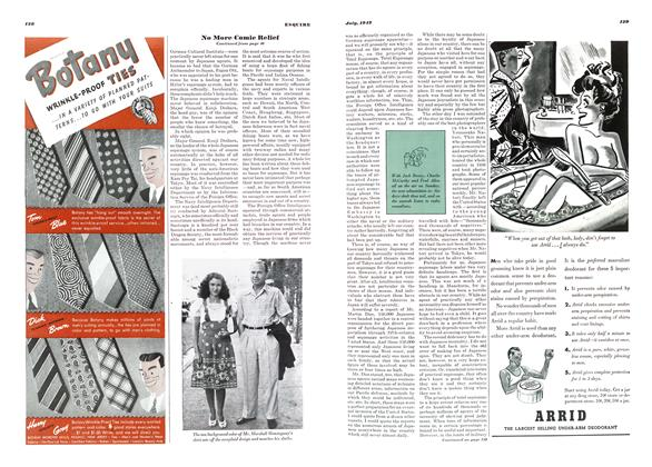 Article Preview: No More Comic Relief, JULY, 1942 1942 | Esquire