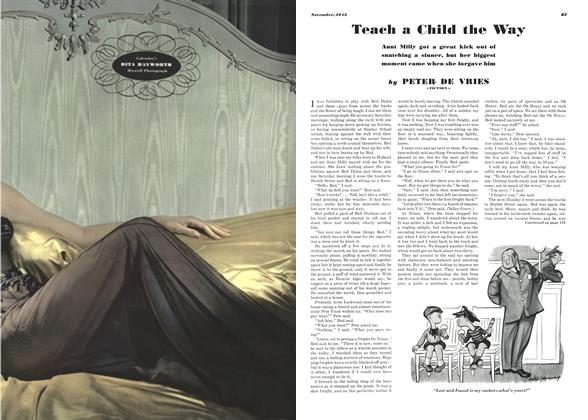 Article Preview: Teach a Child the Way, NOVEMBER 1942 1942 | Esquire