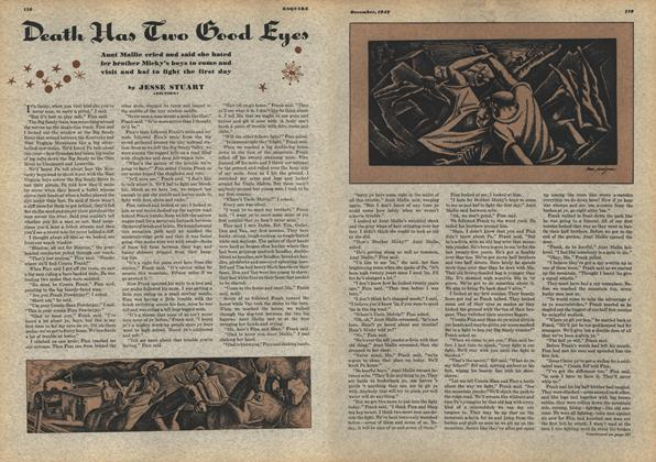 Article Preview: Death Has Two Good Eyes, DECEMBER, 1942 1942 | Esquire