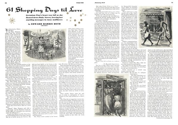 Article Preview: 61 Shopping Days Til Love, January,1943 1943 | Esquire
