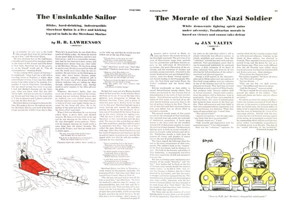 The Morale of the Nazi Soldier