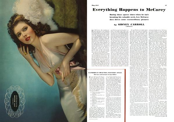 Article Preview: Everything Happens to McCarey, MAY 1943 1943 | Esquire