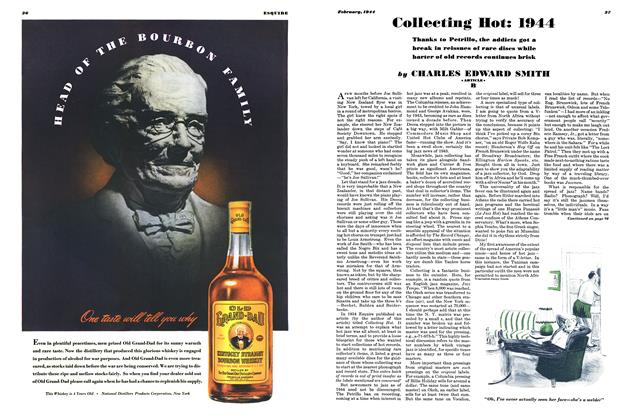 Article Preview: Collecting Hot: 1944, February 1944 | Esquire