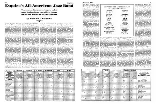 Esquire's All-American Jazz Band