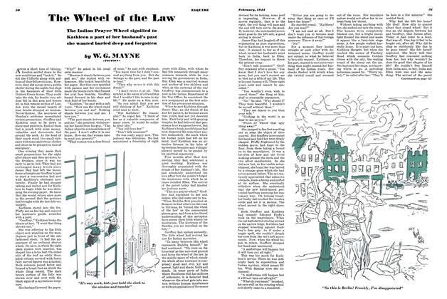 Article Preview: The Wheel of the Law, February 1944 | Esquire