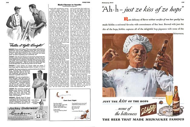 Article Preview: Late Last Night, FEBRUARY, 1944 1944   Esquire