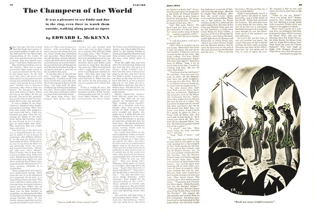 Article Preview: The Champeen of the World, JUNE 1944 1944 | Esquire