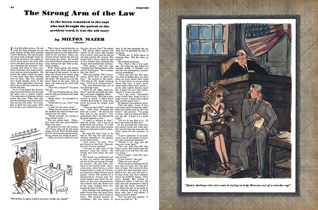Article Preview: The Strong Arm of the Law, JULY 1944 1944 | Esquire