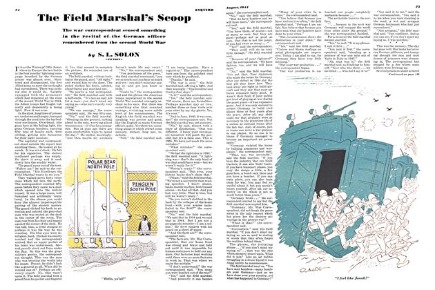 Article Preview: The Field Marshal's Scoop, AUGUST 1944 1944 | Esquire