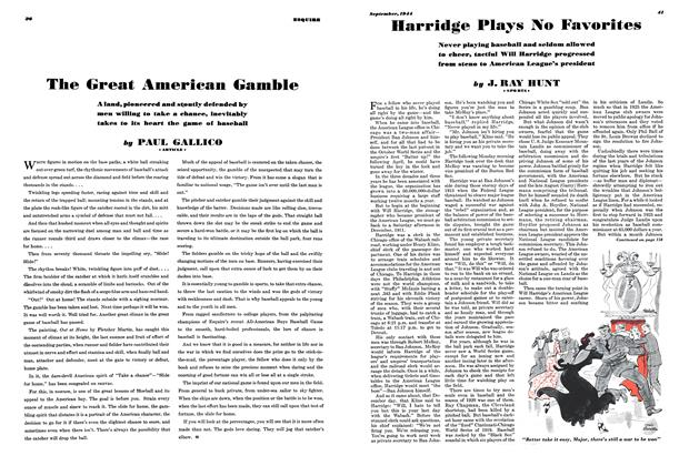 Article Preview: The Great American Gamble, SEPTEMBER 1944 1944   Esquire