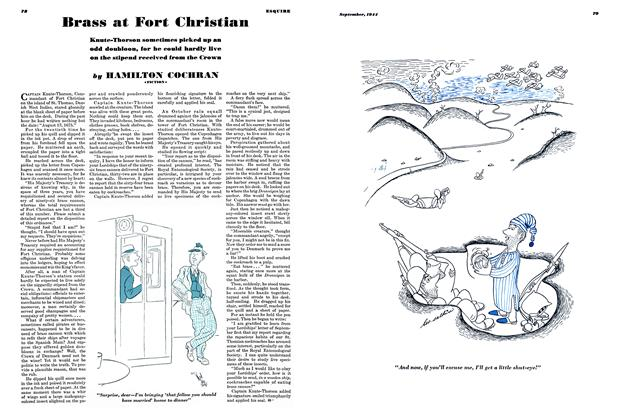 Article Preview: Brass at Fort Christian, SEPTEMBER 1944 1944   Esquire