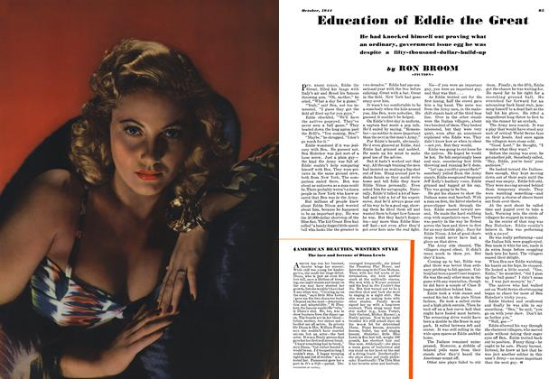 Article Preview: Education of Eddie the Great, OCTOBER 1944 1944 | Esquire