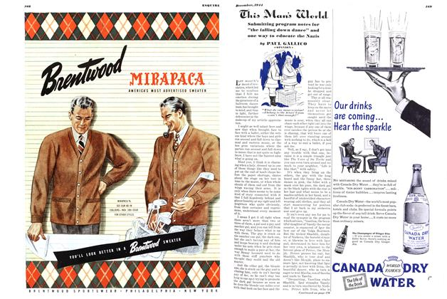 Article Preview: This Man's World, DECEMBER, 1944 1944   Esquire