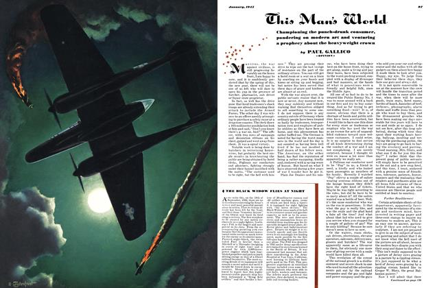 Article Preview: This Man's World, JANUARY, 1945 1945   Esquire