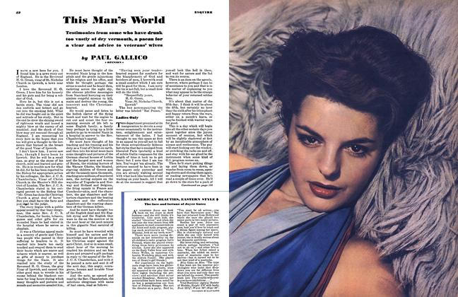 Article Preview: This Man's World, FEBRUARY 1945 1945 | Esquire