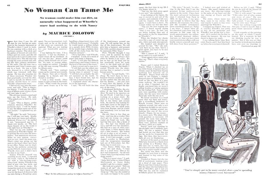 No Woman Can Tame Me   Esquire   JUNE 1945