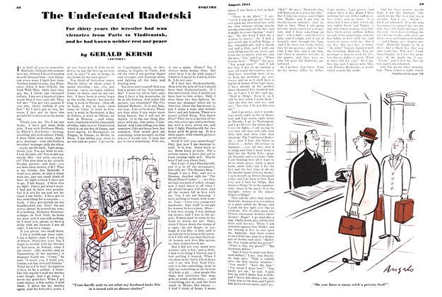 The Undefeated Radetski