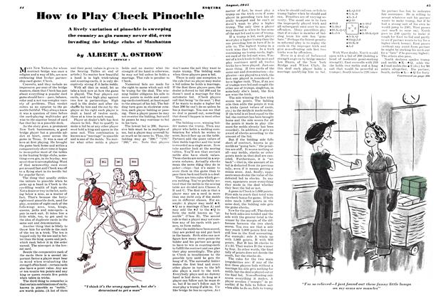 How to Play Check Pinochle