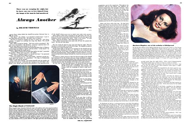 Article Preview: Always Another, NOVEMBER, 1945 1945   Esquire