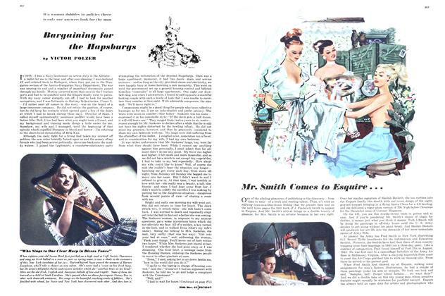 Article Preview: Bargaining for the Hapsburgs, DECEMBER 1945 1945   Esquire
