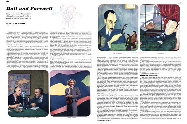 Article Preview: Hail and Farewell, December 1945 | Esquire
