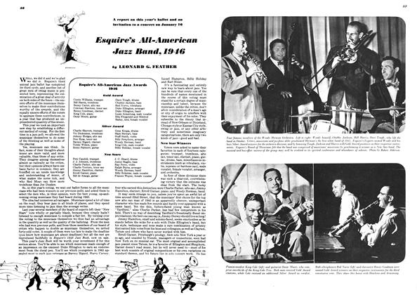 Article Preview: Esquire's All-American Jazz Band, 1946, February 1946 | Esquire