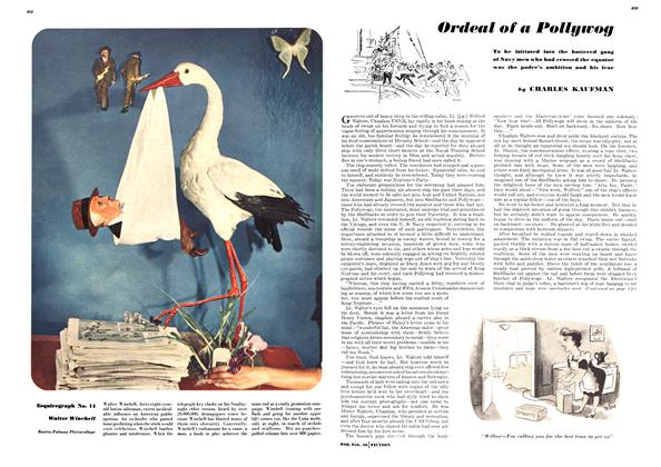 Article Preview: Ordeal of a Pollywog, FEBRUARY, 1946 1946   Esquire