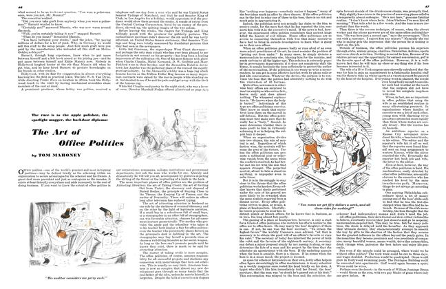Article Preview: The Art of Office Politics, MARCH, 1946 1946 | Esquire