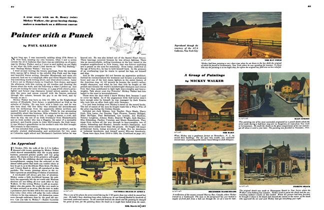 Article Preview: Painter with a Punch, MARCH, 1946 1946 | Esquire
