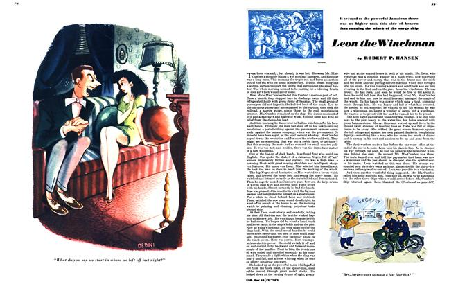 Article Preview: Leon the Winchman, MAY, 1946 1946   Esquire