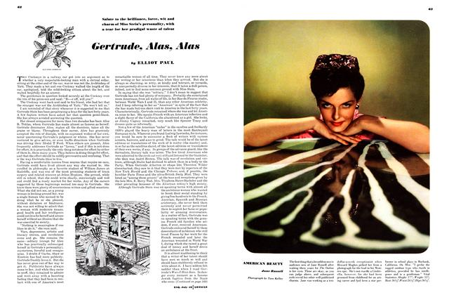 Article Preview: Gertrude, Alas, Alas, JULY, 1946 1946 | Esquire