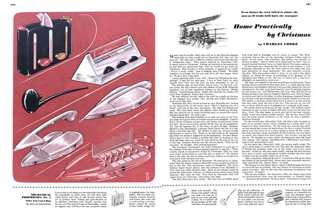 Article Preview: Home Practically by Christmas, DECEMBER, 1946 1946 | Esquire