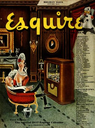 Cover for the January 1947 issue