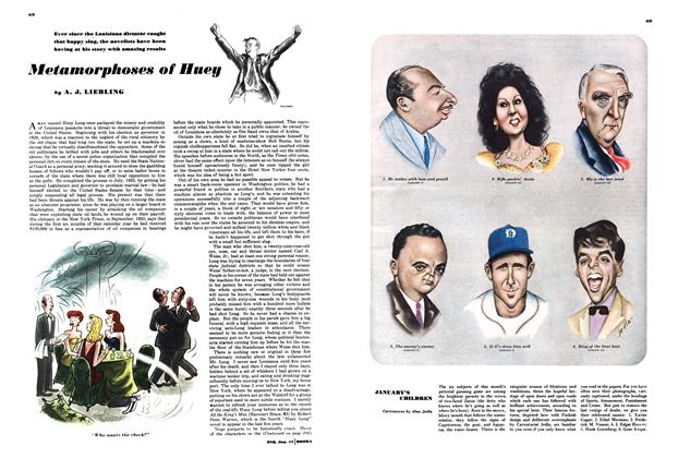 Article Preview: Metamorphoses of Huey, JANUARY, 1947 1947   Esquire