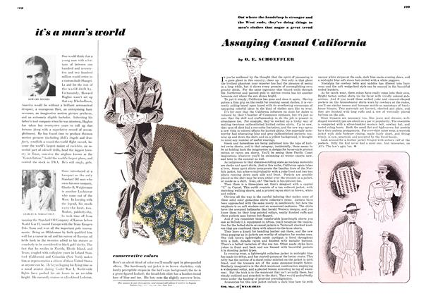Article Preview: It's a Man's World, MARCH, 1947 1947 | Esquire