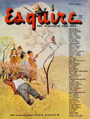 Cover for the May 1947 issue