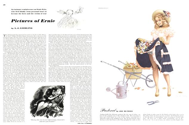Article Preview: Pictures of Ernie, MAY, 1947 1947 | Esquire