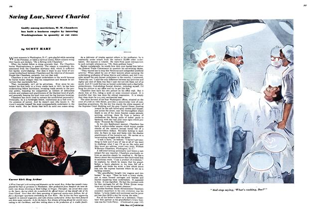 Article Preview: Swing Low, Sweet Chariot, MAY, 1947 1947 | Esquire
